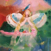 寺門孝之絵画展ANGEL DRAGON FLORA