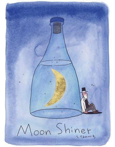 たむらしげる個展「Moonshiner」