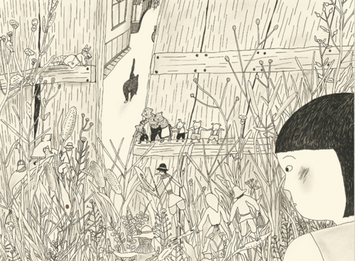 石川えりこ個展 「ねこさんぽ」