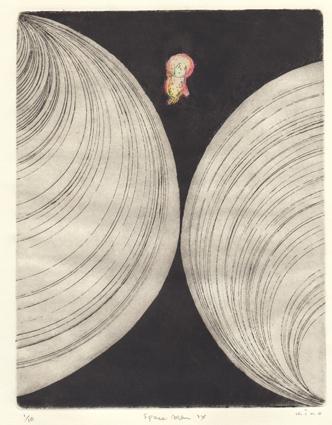 キノマホ銅版画展