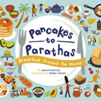 スズキトモコ  絵本「Pancakes to Parathas ~ Breakfast Around the World」出版記念展